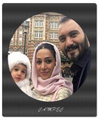 بیوگرافی و عکس کامبیز دیرباز با همسرش