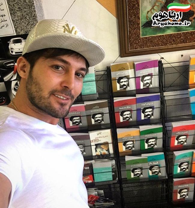 جدیدترین عکس های دانیال عبادی اردیبهشت95 , عکس های بازیگران