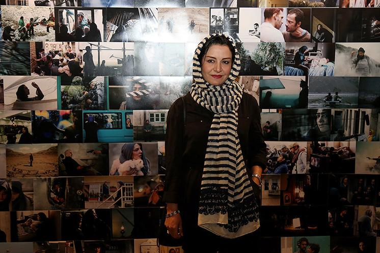 مریلا زارعی در دومین جشن عکاسان سینما