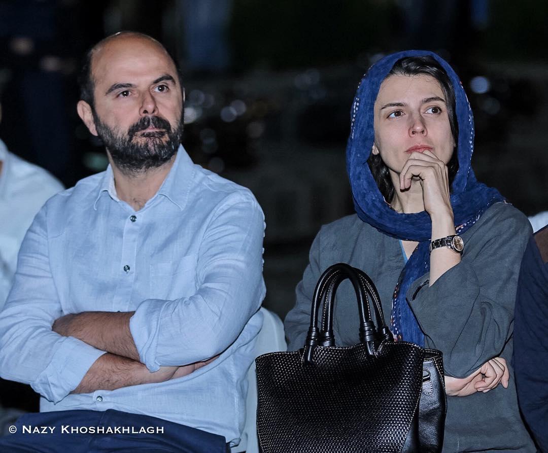 لیلا حاتمی و علی مصفا در دومین جشن عکاسان سینما