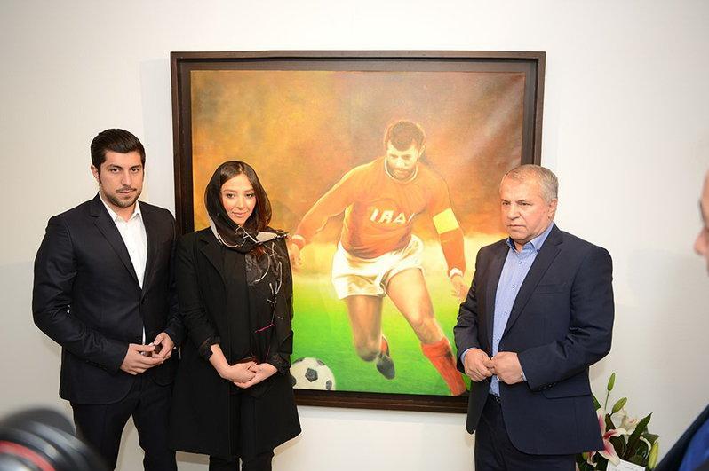 آناهیتا درگاهی و همسرش محمد پروین و علی پروین