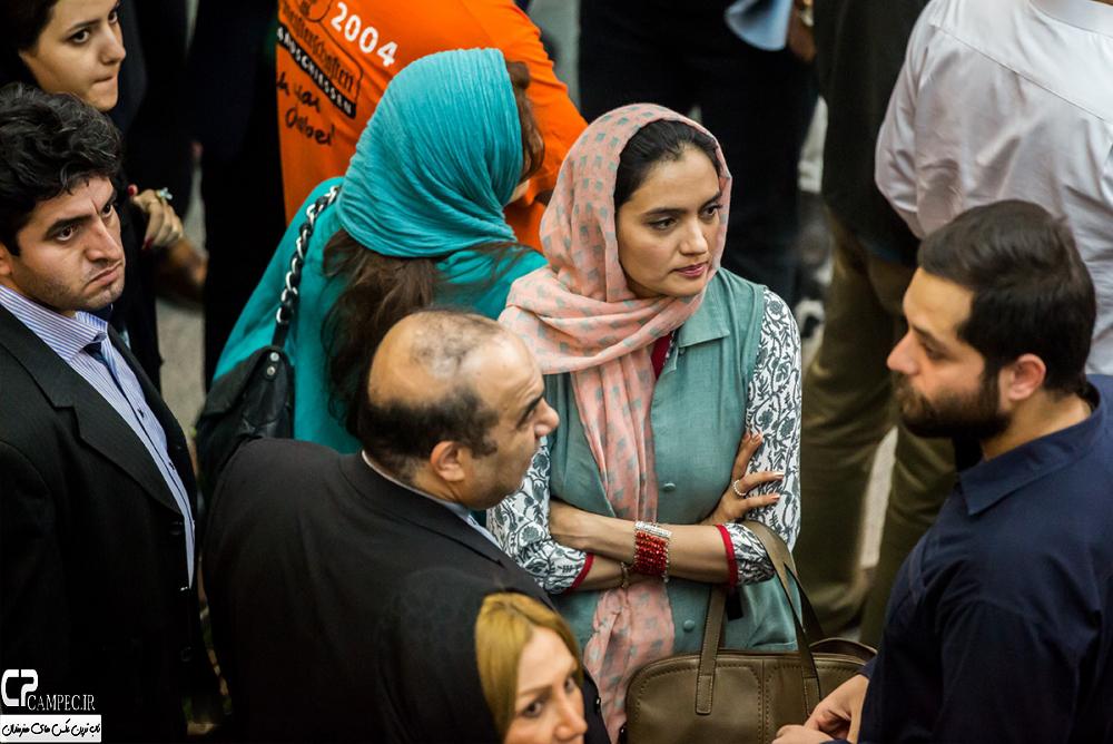 میترا حجار در افتتاحیه جشنواره فیلم سبز