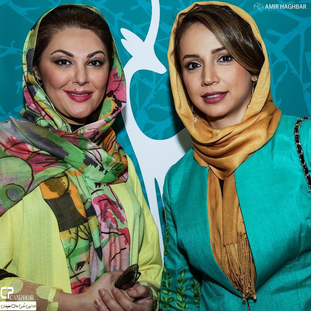لاله اسکندری و شبنم قلی خانی در جشنواره فیلم سبز