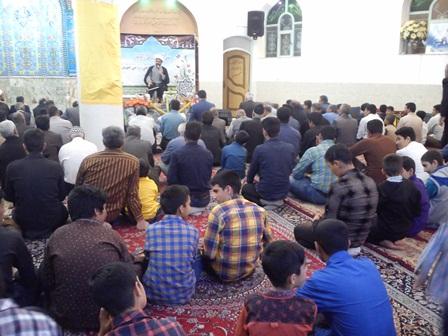سخنرانی در محفل قرآنی زازران