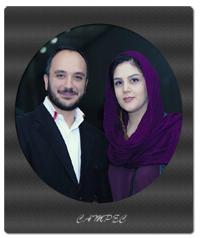 بیوگرافی و عکسهای احسان کرمی با همسرش