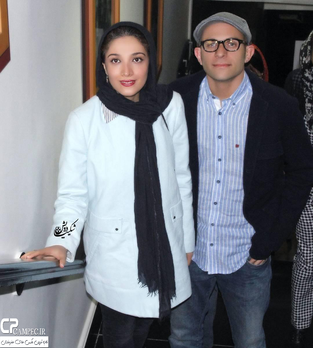 عکس شخصی مینا ساداتی و همسرش بابک حمیدیان