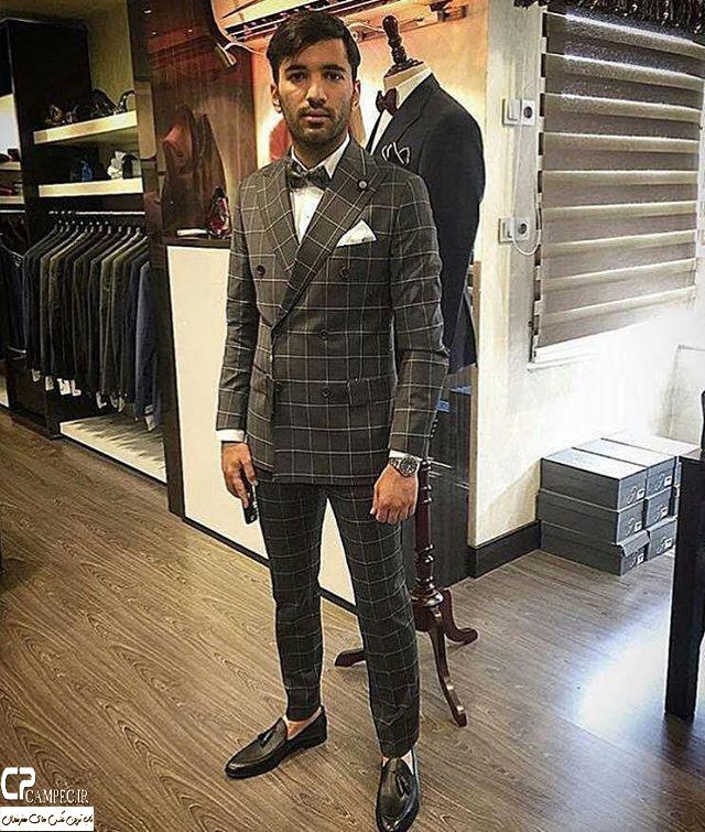 محسن مسلمان با لباس دامادی