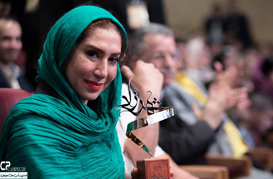 نسیم ادبی در جشن پایان سریال شهرزاد