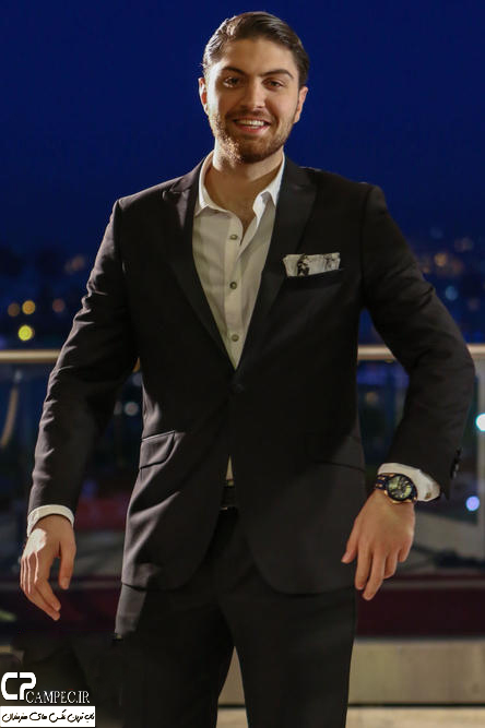 امیر حسین فتحی در جشن پایان سریال شهرزاد