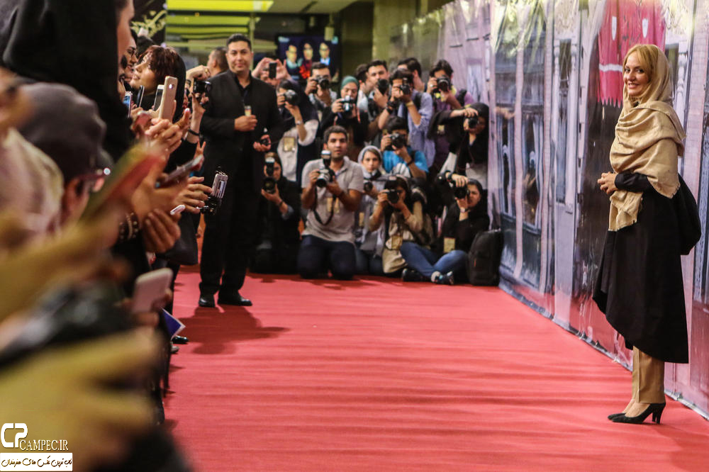 مهناز افشار در جشن پایان سریال شهرزاد