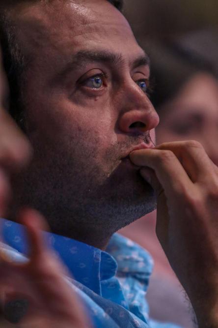 مصطفی زمانی در جشن پایان سریال شهرزاد