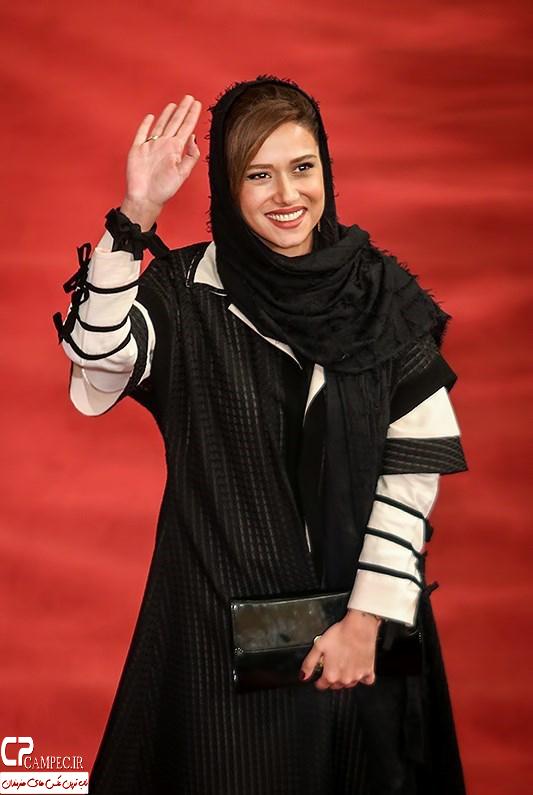 پریناز ایزدیار در جشن پایان سریال شهرزاد