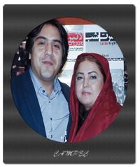 عکس جدید مانی رهنما با همسرش