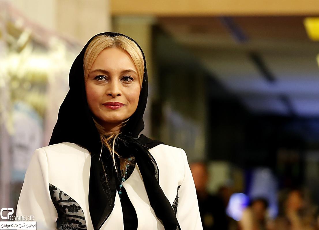 مریم کاویانی در جشن پایان سریال شهرزاد