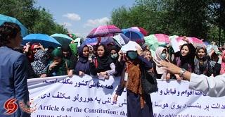 تصاویر ی از حضور فعال و پور شور زنان در تظاهرات میلیونی جنبش روشنایی