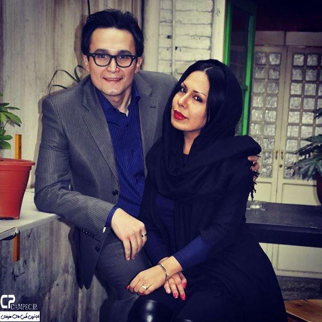 عکس شخصی کیوان محمودنژاد با همسرش