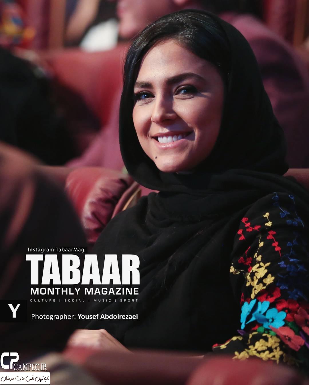 هدی زین العابدین در جشن پایان سریال شهرزاد