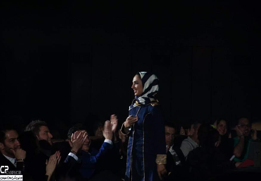 سوگل طهماسبی در کنسرت روزبه نعمت الهی