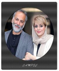 عکسهای جدید حمید رضا آذرنگ با همسرش ساناز بایان