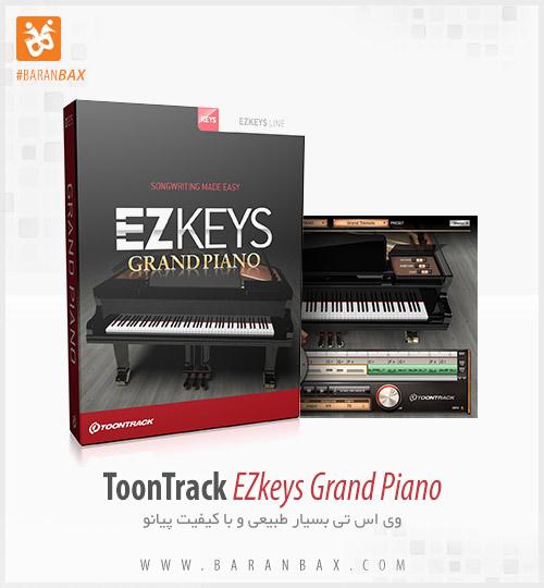 دانلود وی اس تی پیانو ToonTrack EZkeys Grand Piano