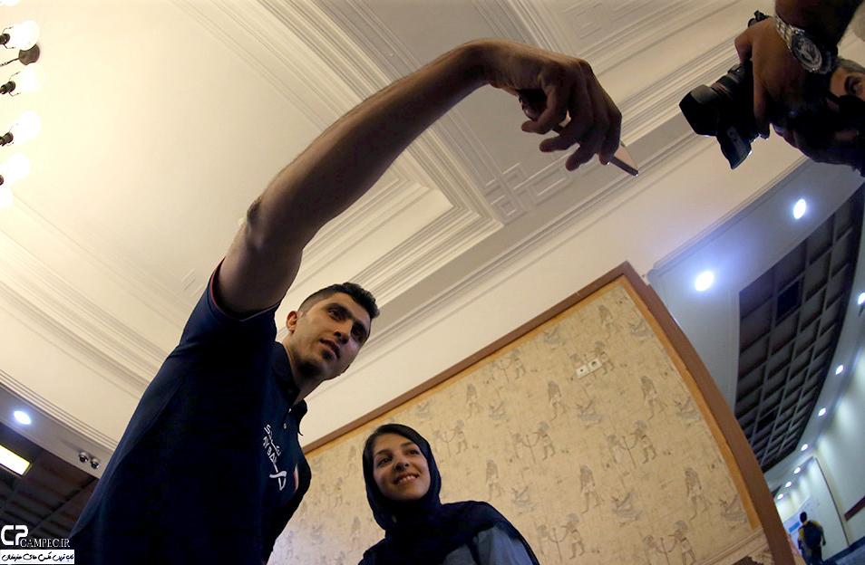 بدرقه تیم ملی والیبال به مسابقات انتخابی المپیک