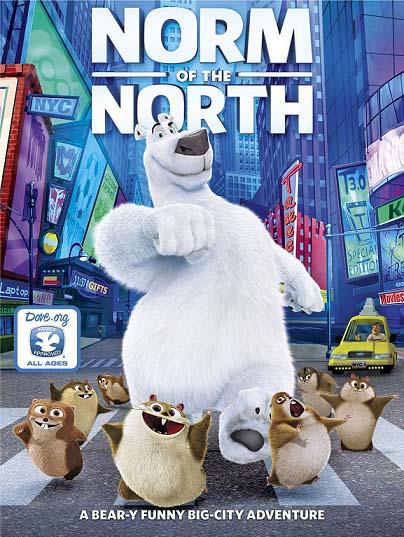 دانلود رایگان انیمیشن Norm of the North 2016 با دوبله فارسی