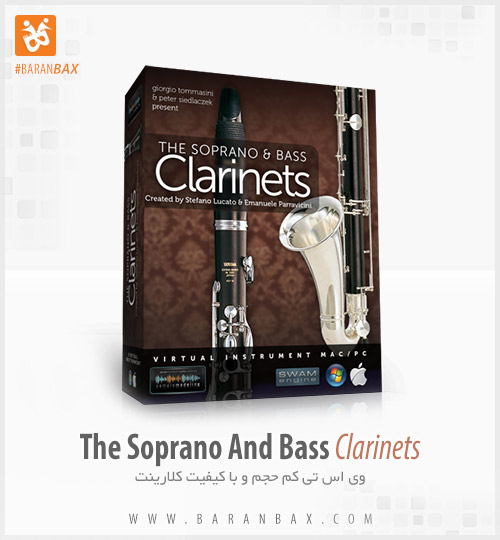 دانلود وی اس تی کلارینت The Soprano And Bass Clarinets