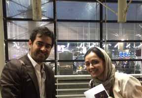 شهاب حسینی و ترانه علیدوستی راهی کن شدند / عکس , اخبار فرهنگ وهنر