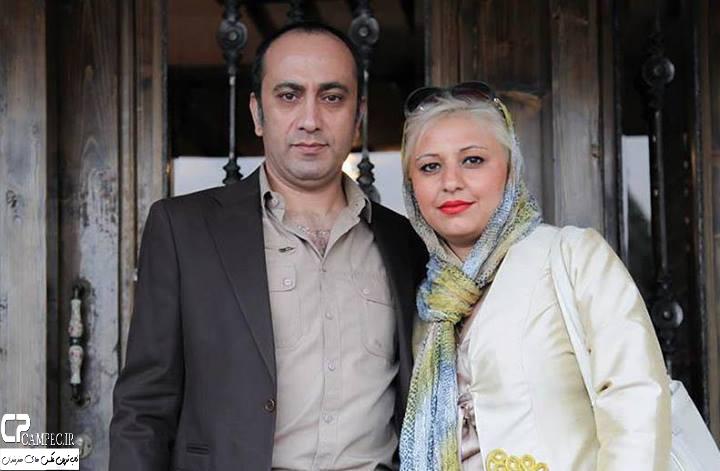 عکس شخصی عارف لرستانی با همسرش