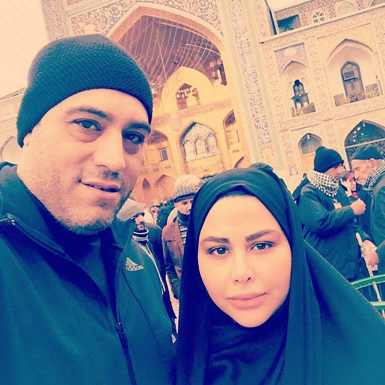 زوج هنرمند یاسمینا باهر و امیریل ارجمند