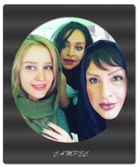 عکسهای جدید الناز حبیبی با دوستاش