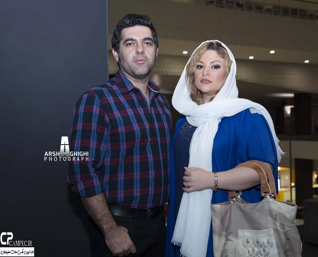 مصطفی کیایی و همسرش