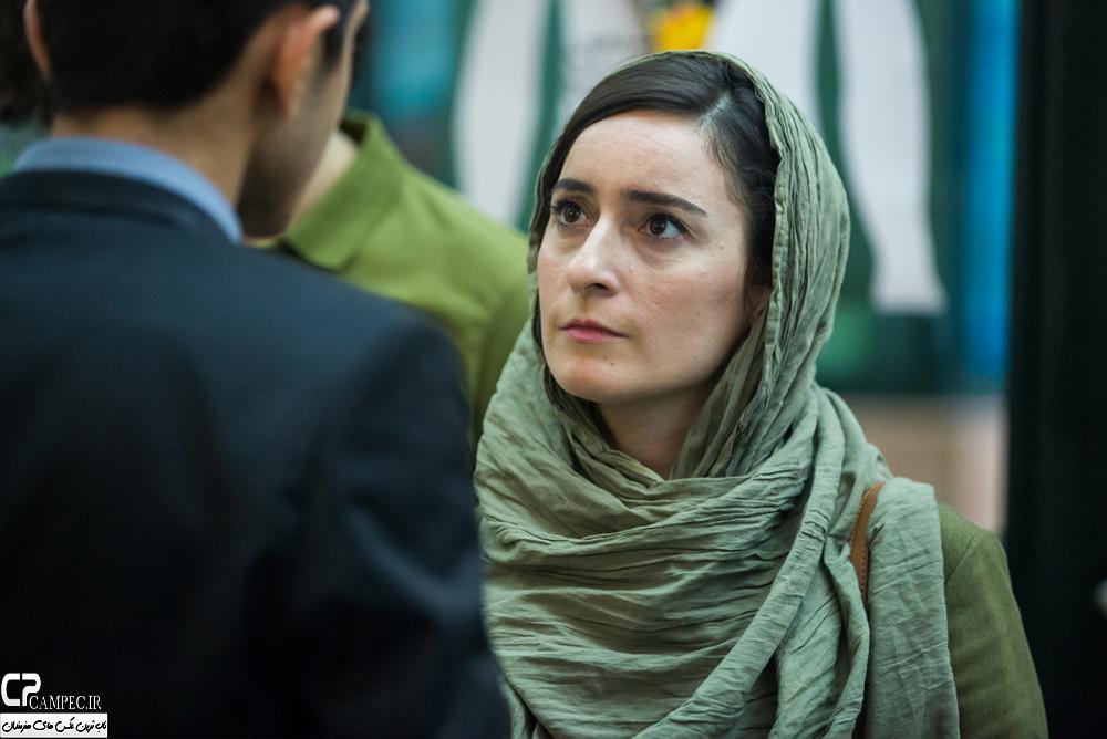 سهیلا گلستانی در اختتامیه جشنواره فیلم سبز