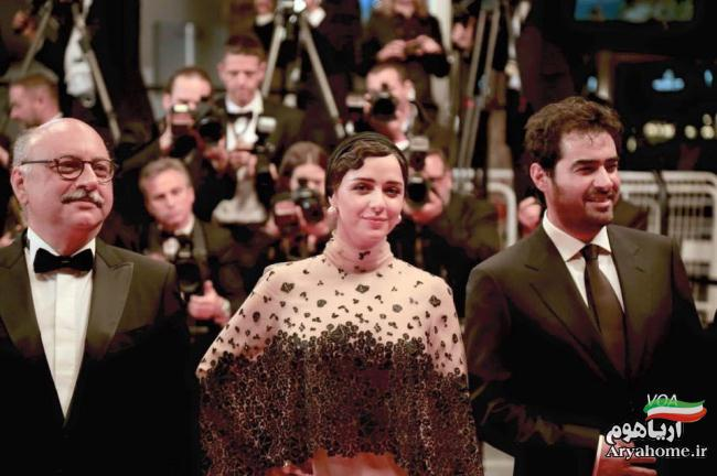 عکسهای فرش قرمز فیلم فروشنده در جشنواره کن 2016 , عکس های بازیگران