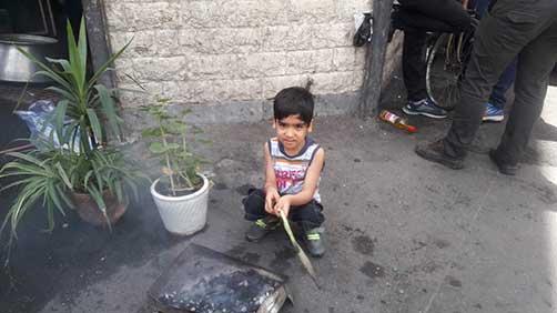 جشن نیمه شعبان در محل حسینیه شهید محمّد علی دولت آبادی