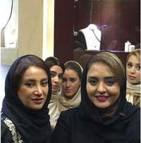 عکس جدید نرگس محمدی و بهاره افشاری در جواهر فروشی , عکس های بازیگران
