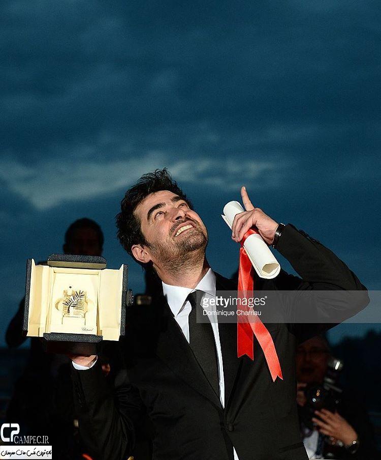شهاب حسینی در مراسم اختتامیه جشنواره کن