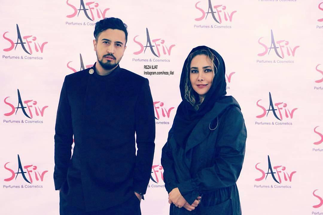 عکس مهرداد صدیقیان با آنا نعمتی