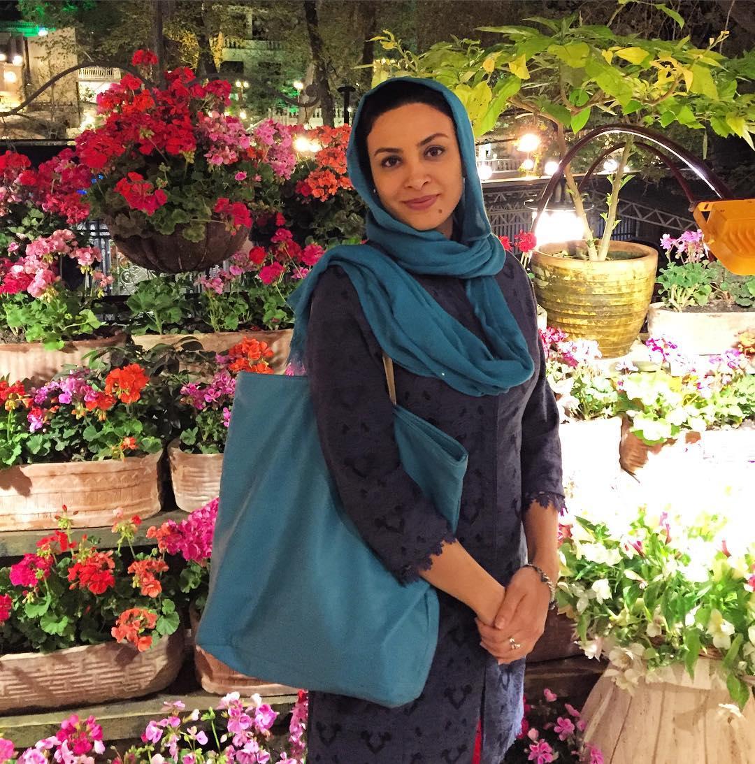 عکس شخصی حدیثه تهرانی
