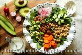 رژیم سالم سبزیجات را تجربه کنید؛