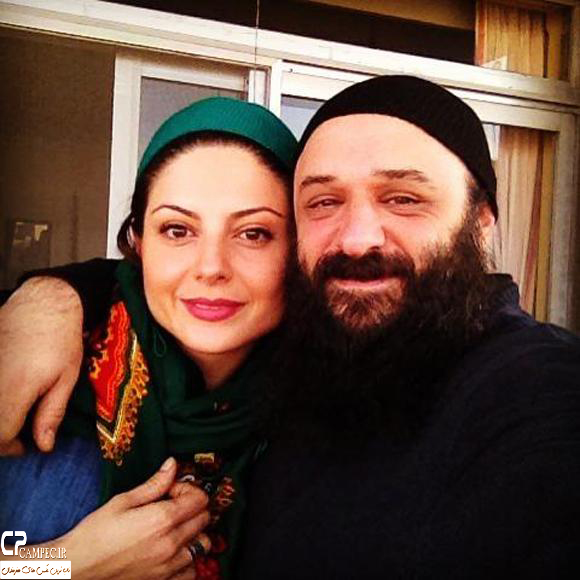 عکس شخصی سولماز غنی با همسرش