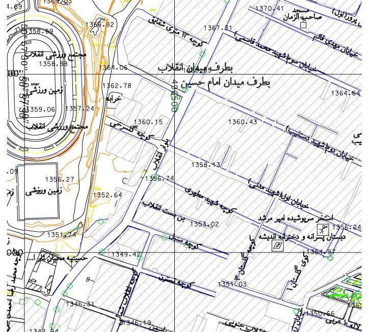 image result for نقشه کامل شهر کرج به صورت فایل اتوکد
