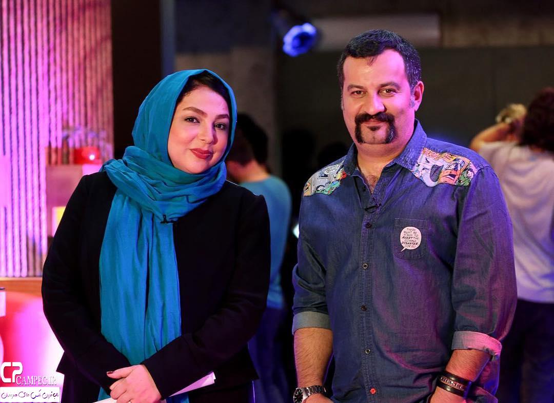 محراب قاسم خانی و زهرا عاملی در برنامه چارگوش