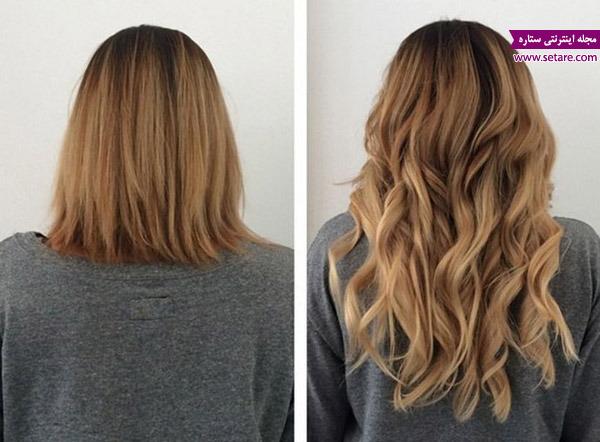 انواع استنشن زیبای مو