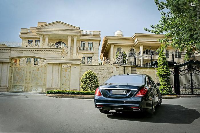 مرسدس بنز ۳میلیاردی در خیابانهای تهران +عکس , اتومبیل ها