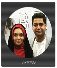 عکسهای آزاده نامداری با همسرش سجاد عبادی
