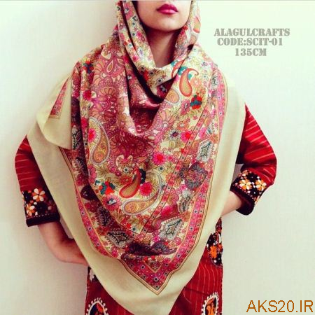 روسری ترکمن زیبا