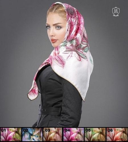 روسری ابریشمی زنانه شیک