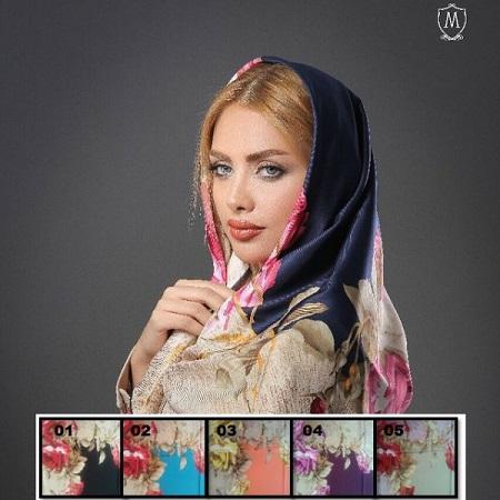 روسری ابریشمی زنانه بسیارزیبا