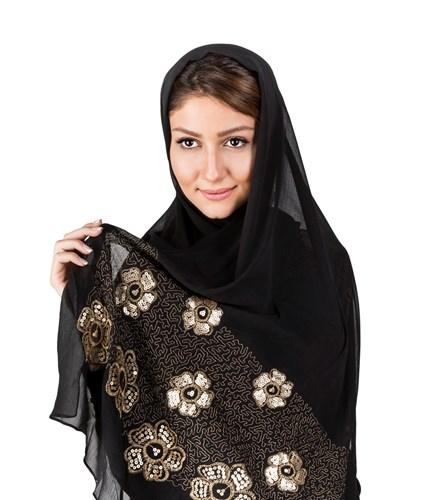 شال و روسری کنزو زنانه مشکی